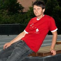 Ostwind Retro Shirt (Red / White)