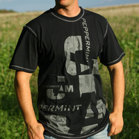 Peppermint Jam Boy Shirt black