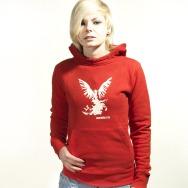 Northern Lite Girl Hoody (Red)