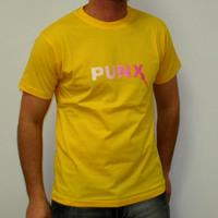 PUNX LOGO SHIRT (YELLOW)