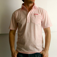Support Your Local DJs Poloshirt (Pink)