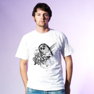 Serial Killaz Shirt (White / Black Print)