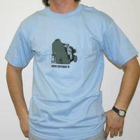 Skint Records Shirt OAP-Light bluw