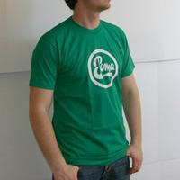 Soma Labelshirt (Kelly Green / White Print)