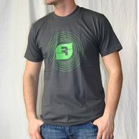 SSense Records Logoshirt (Asphalt)