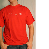 Substatic Label Shirt (Red)