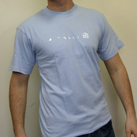 Substatic Label Shirt (Lightblue)