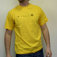 Substatic Label Shirt (Yellow)