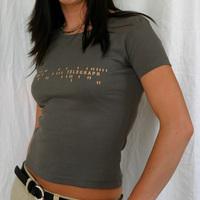 Girl Telegraph Shirt (Olive)