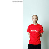 Red Northern Lite Temper Text Shirt