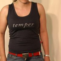 NL - Temper Text (Grey Woman Top)