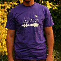 Tic Tac Toe City Shirt (Purple)