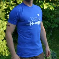 Tic Tac Toe City Shirt (Royal blue)