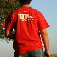 Terminal M Crew Logo Shirt (Red)