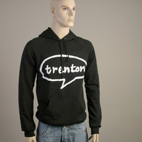 Trenton Hooded Sweater (Black)
