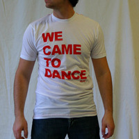 We Came To Dance Logoshirt (White / Red)