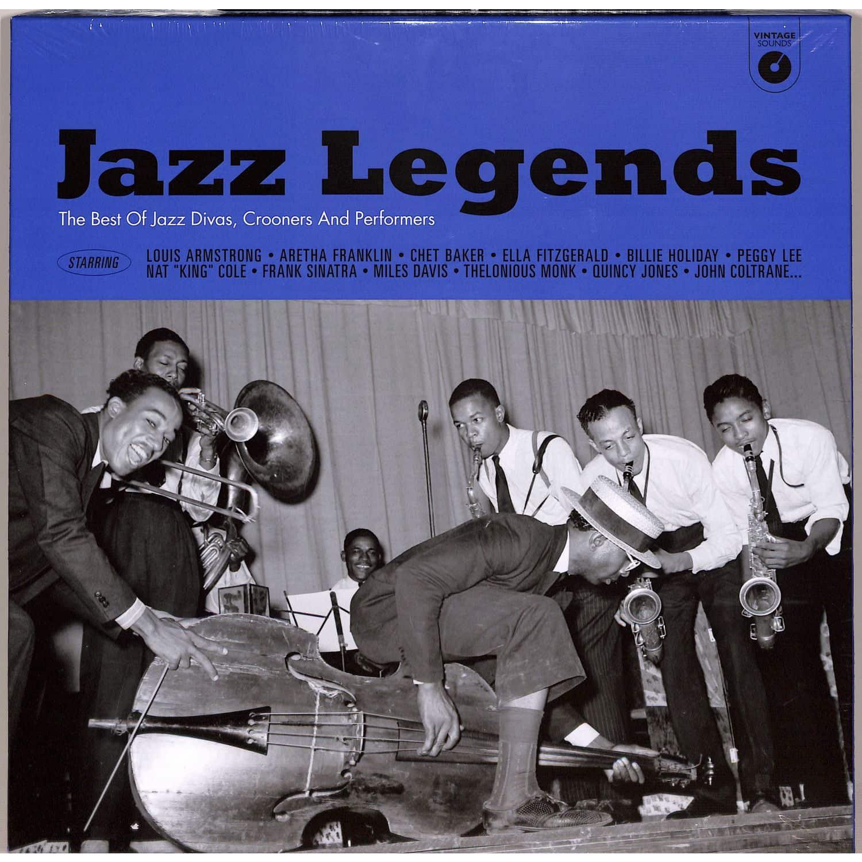 Various Artists - JAZZ LEGENDS BOX