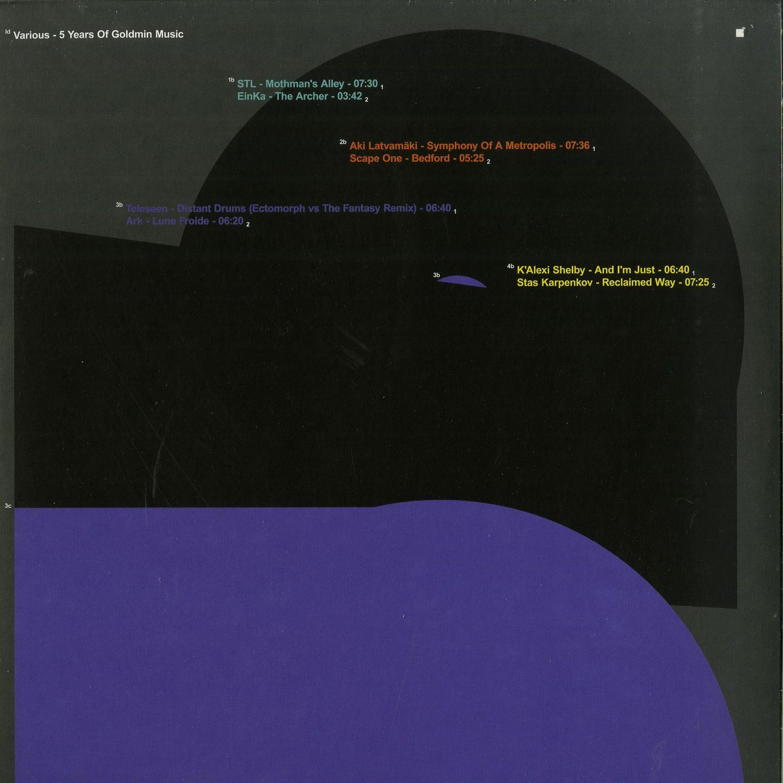 Ian Simmonds, Thomas Brinkmann, Teleseen, ARK - 5 YEARS OF GOLDMIN MUSIC VOL.3