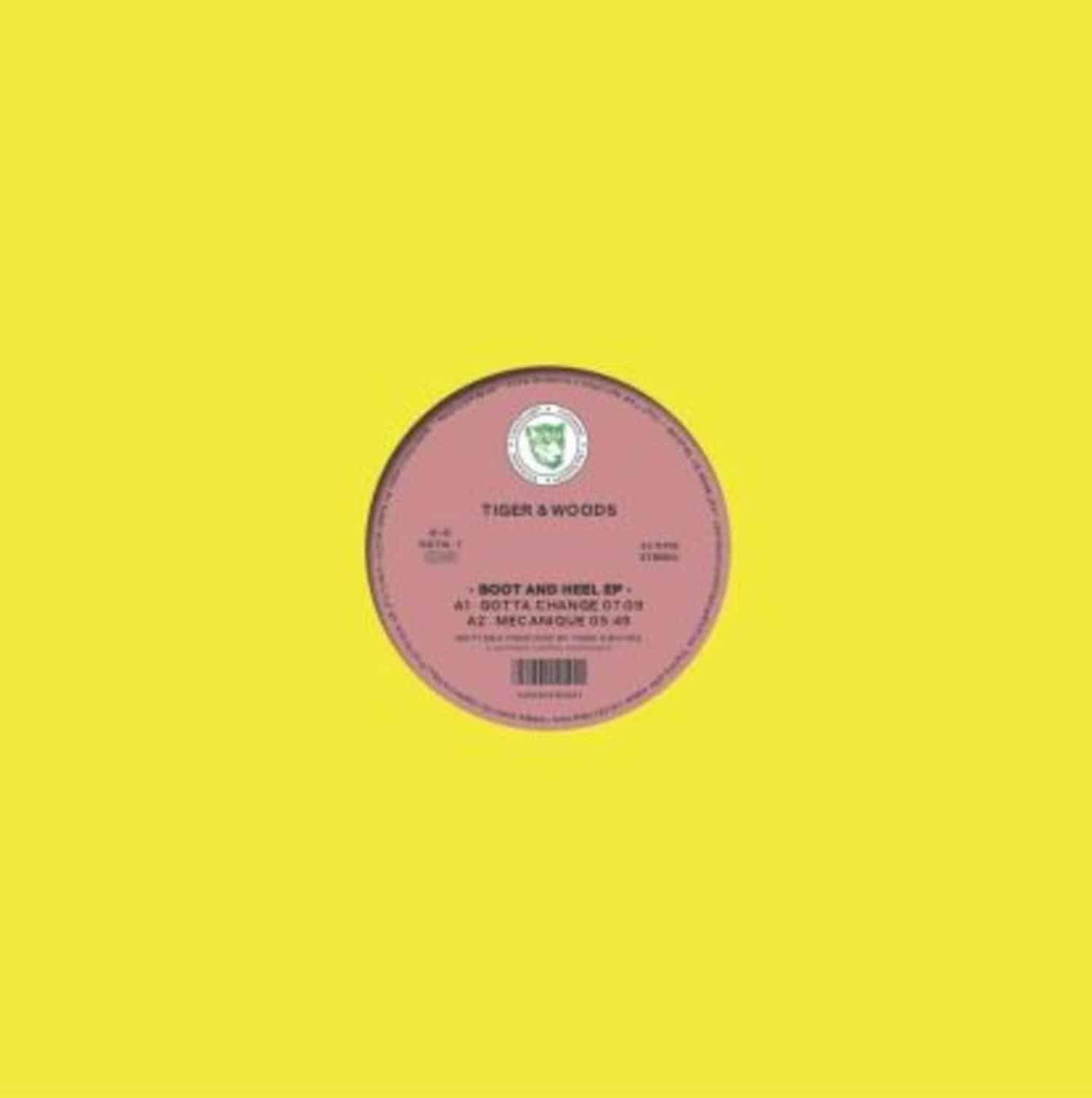 Tiger & Woods - BOOT & HEEL EP