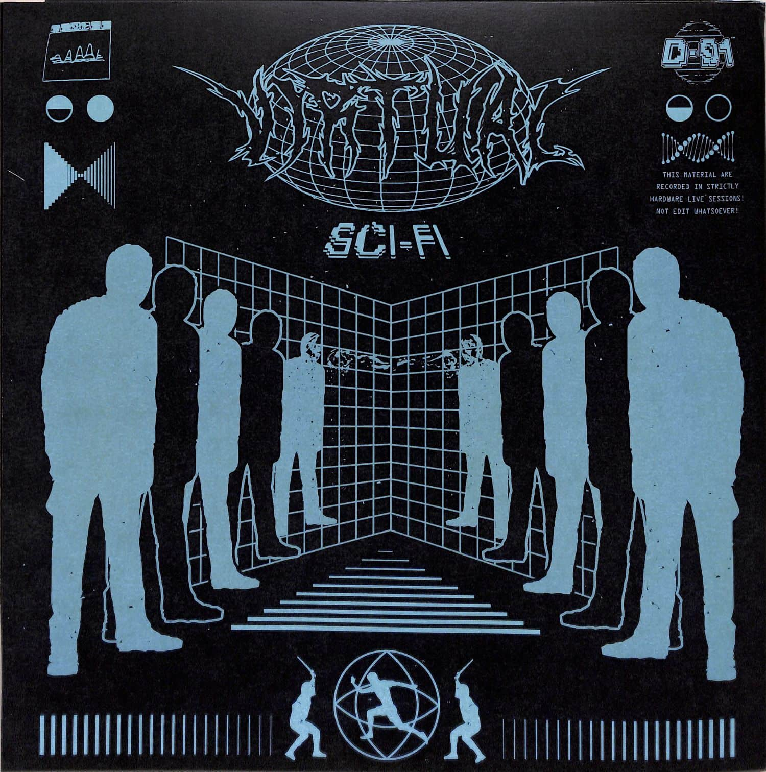 DJ Aquatraxx - VIRTUAL SCI-FI EP