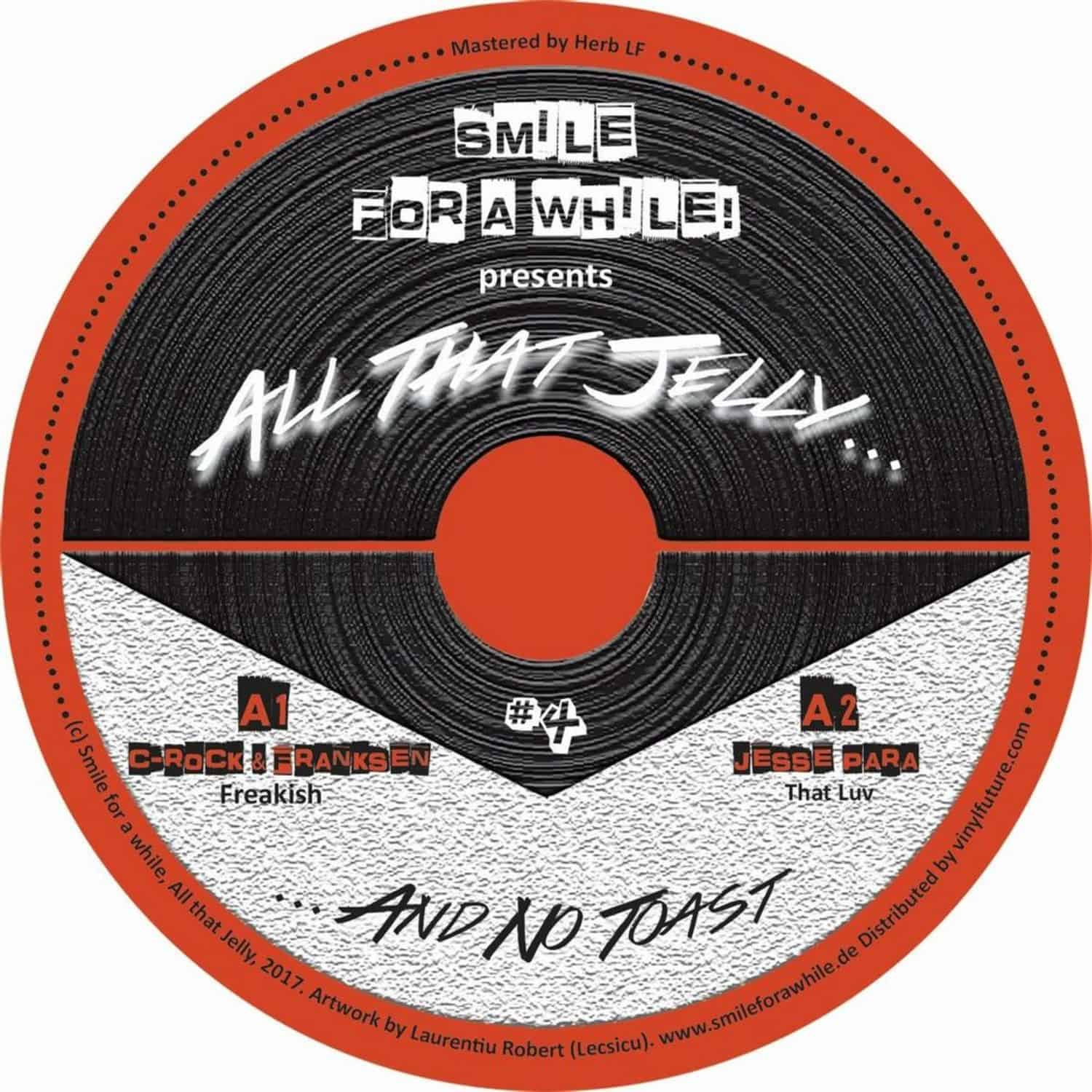 Various Artists - SMILE FOR A WHILE PRES. ALL THAT JELLY VOL. 4