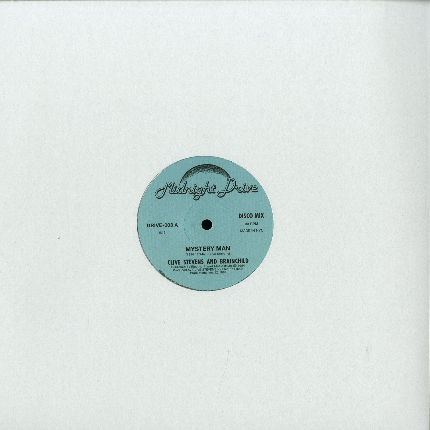 Clive Stevens And Brainchild - MYSTERY MAN