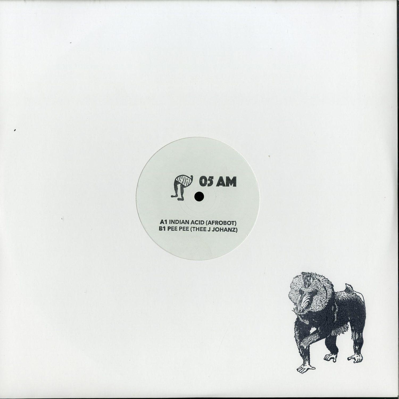 Afrobot / Thee J Johanz - Indian Acid / Pee Pee