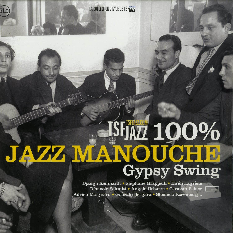 Various Artists - 100% JAZZ MANOUCHE - GYPSY SWING