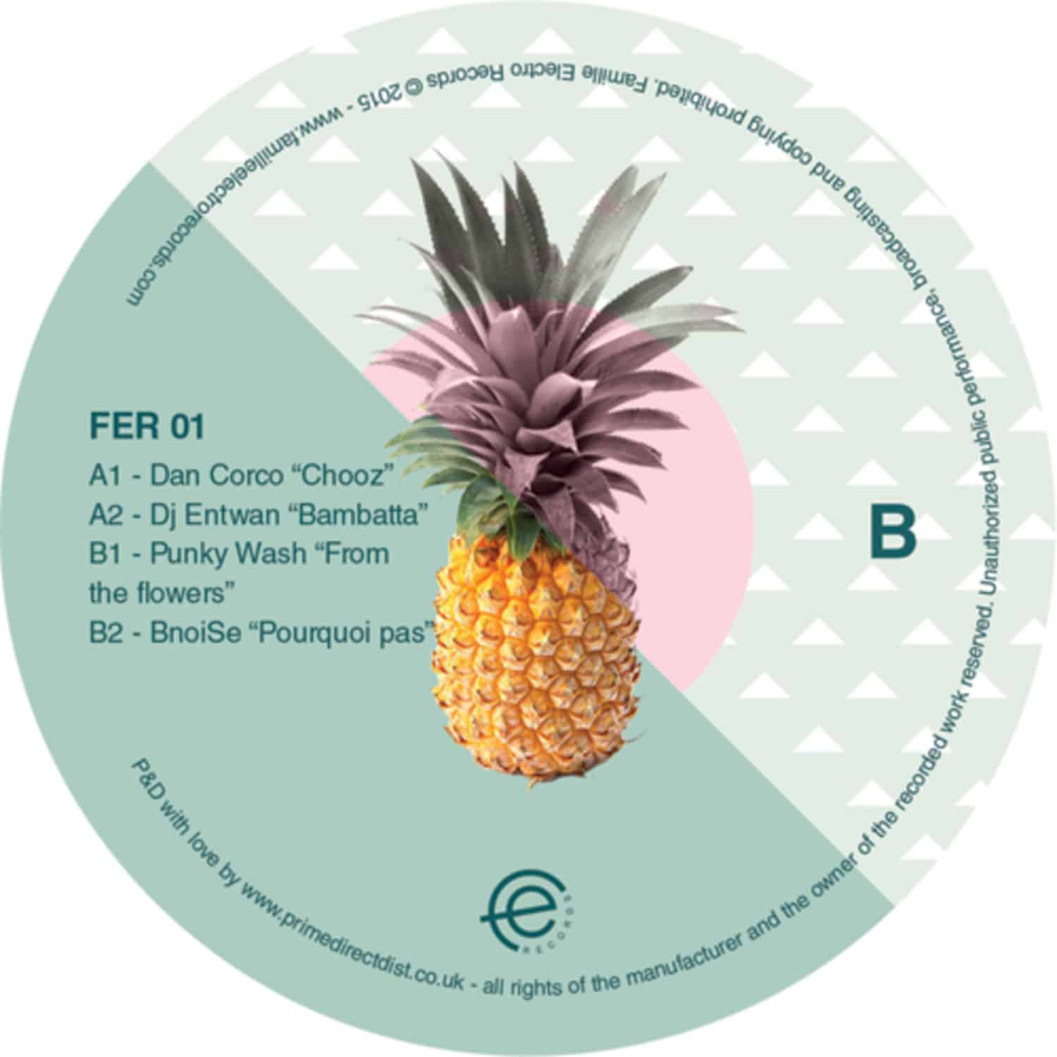 Various Artists - FAMILY EP