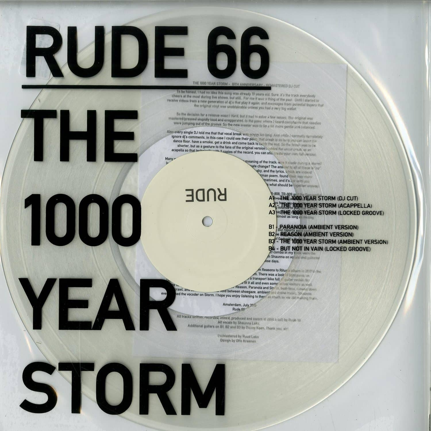Rude 66 - THE 1000 YEAR STORM EP