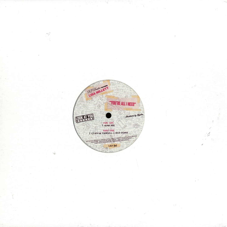 DJ Dealer feat. Lisa Millett - YOURE ALL I NEED