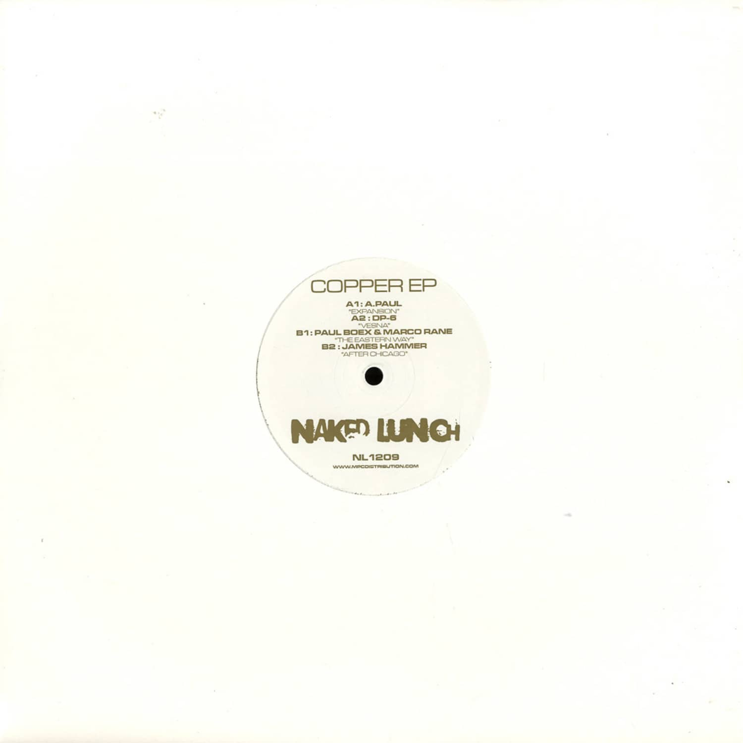 Various Artists - COPPER EP