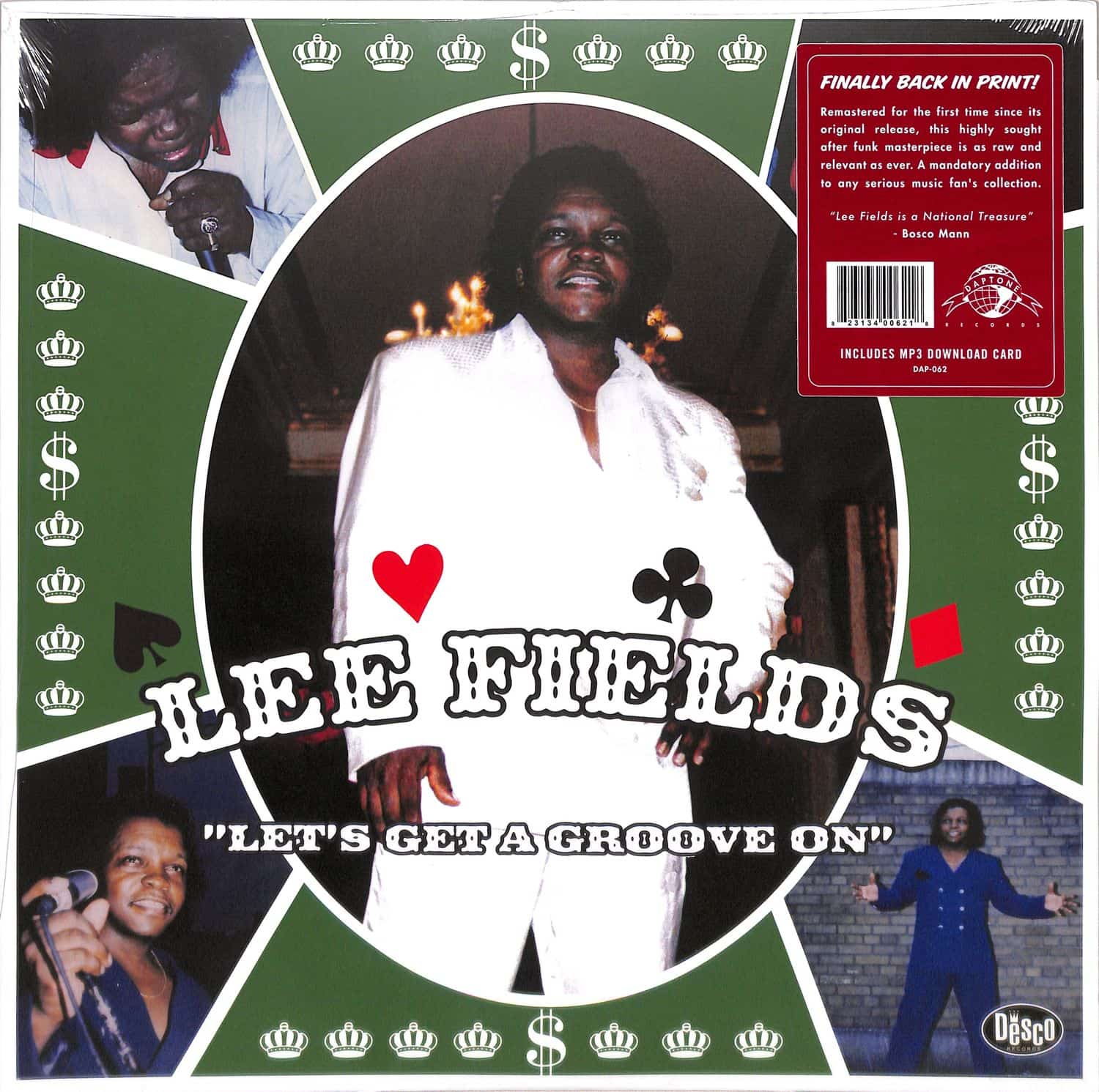 Lee Fields - LET S GET A GROOVE ON