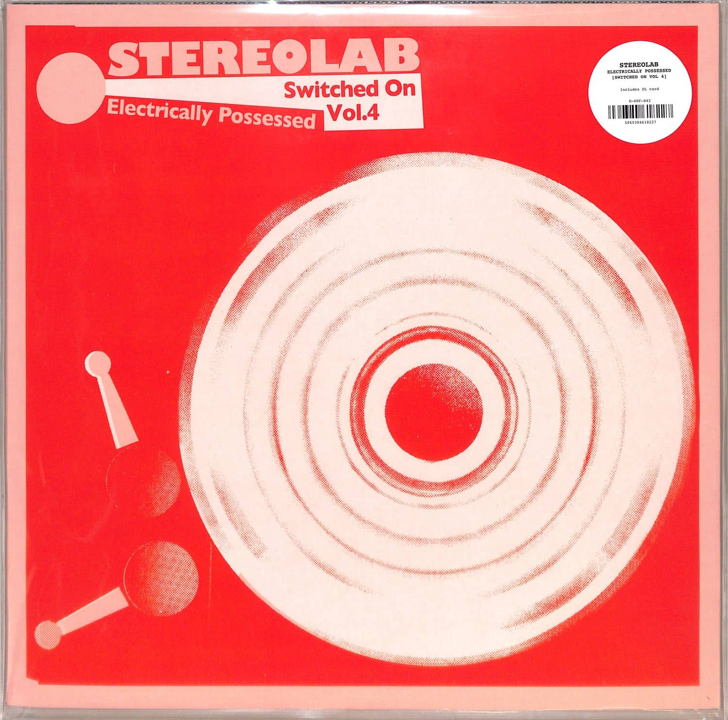 Stereolab - ELECTRICALLY POSSESSED SWITCHED ON 4/REM.3LP+MP3