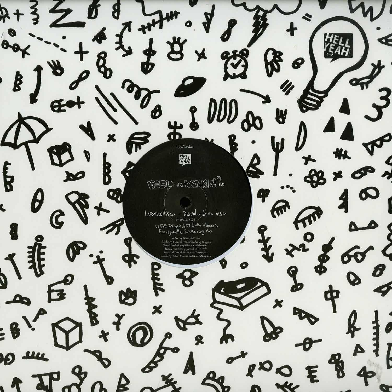 Luminodisco / Margot - KEEP ON WANKIN EP