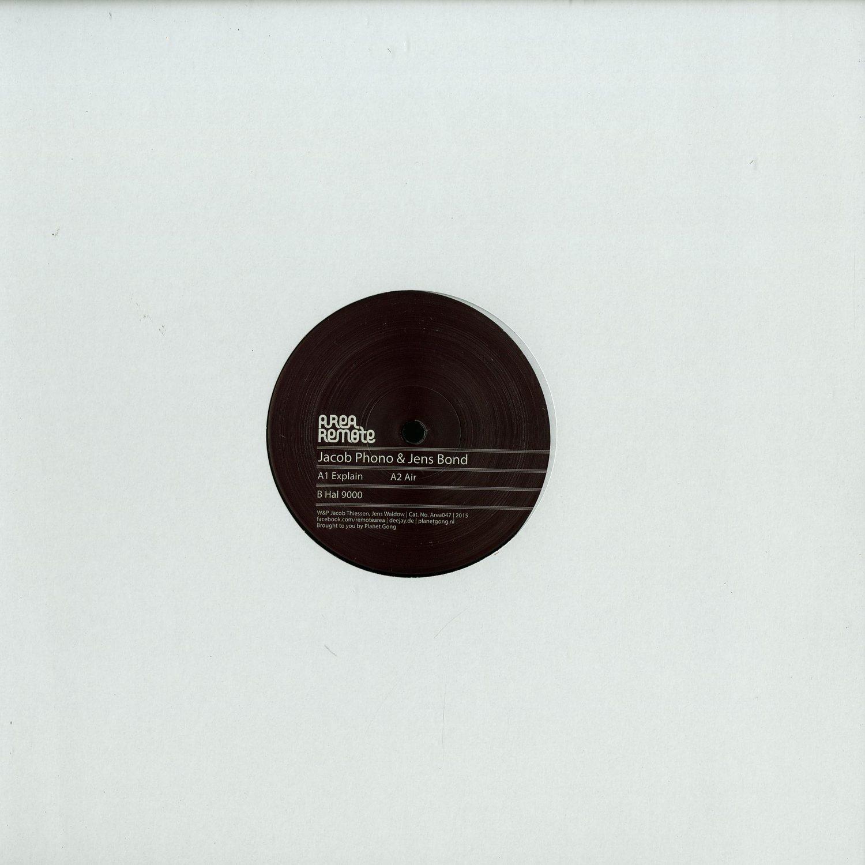 Jacob Phono & Jens Bond - EXPLAIN EP