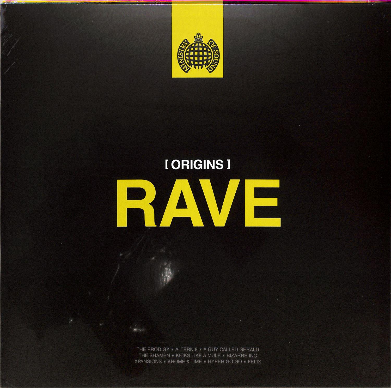 Various Artists - ORIGINS OF RAVE
