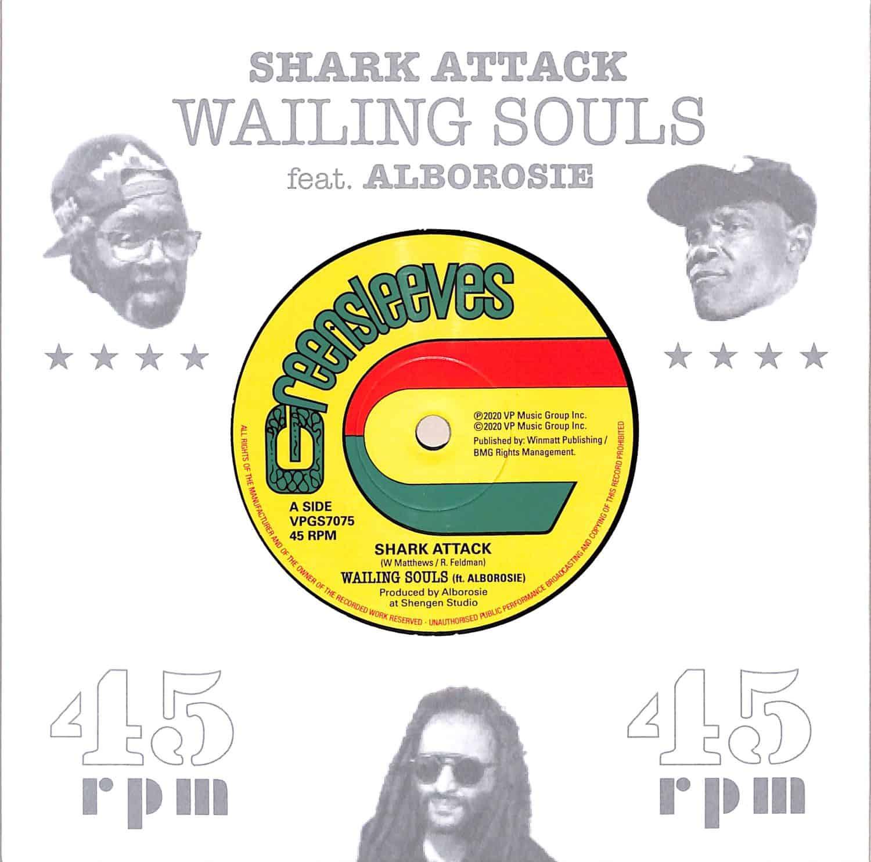 Wailing Souls / Alborosie - SHARK ATTACK / SHARK ATTACK DUB