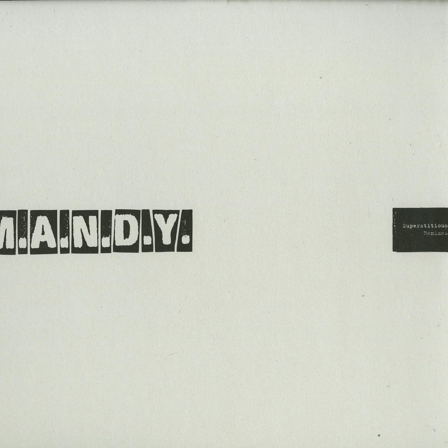 M.a.n.d.y. - SUPERSTITIOUS
