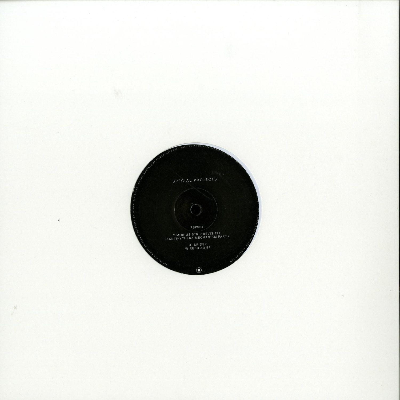 DJ Spider - WIRE HEAD EP