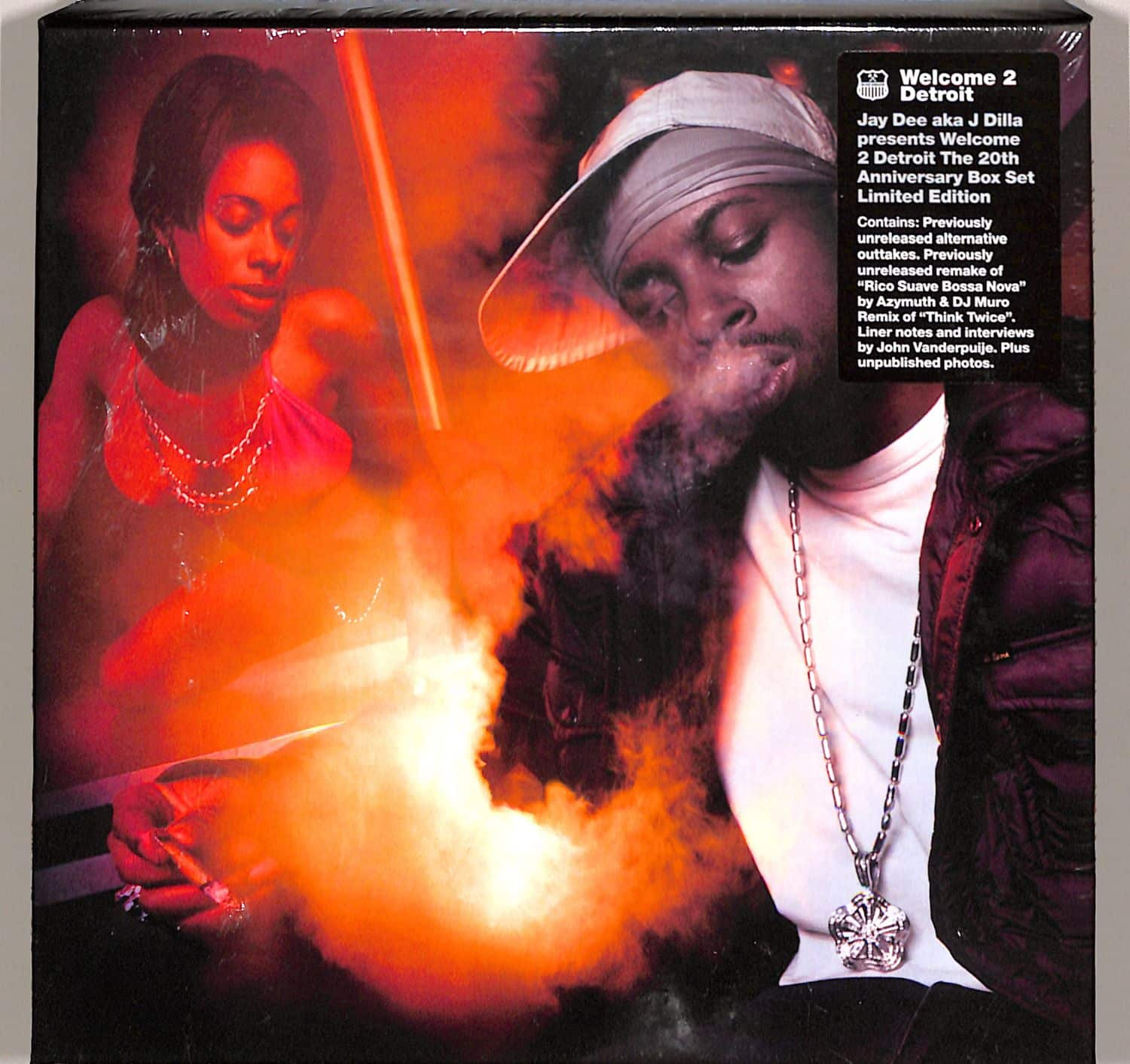 Jay Dee aka J Dilla - WELCOME 2 DETROIT - THE 20TH ANNIVERSARY EDITION