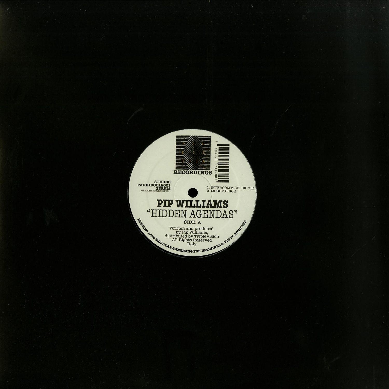 Pip Williams - HIDDEN AGENDAS EP