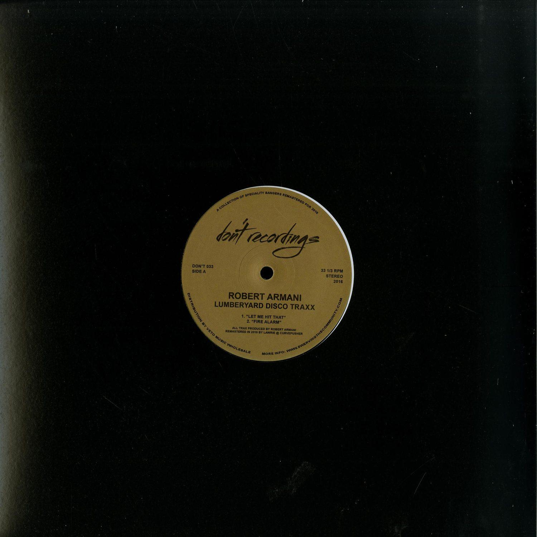 Robert Armani - LUMBERYARD DISCO TRAXX