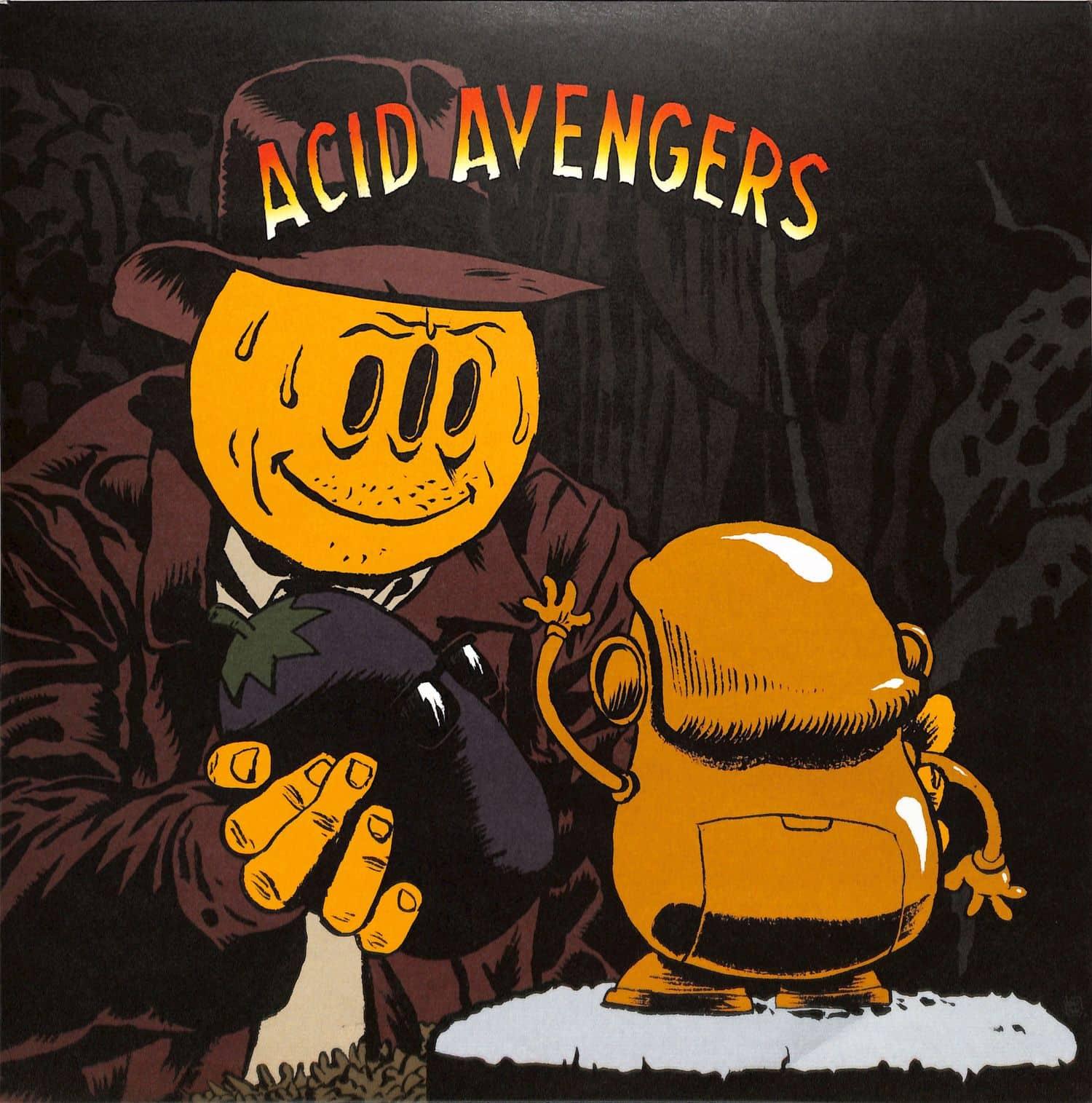 Alder / Fasme - ACID AVENGERS 019