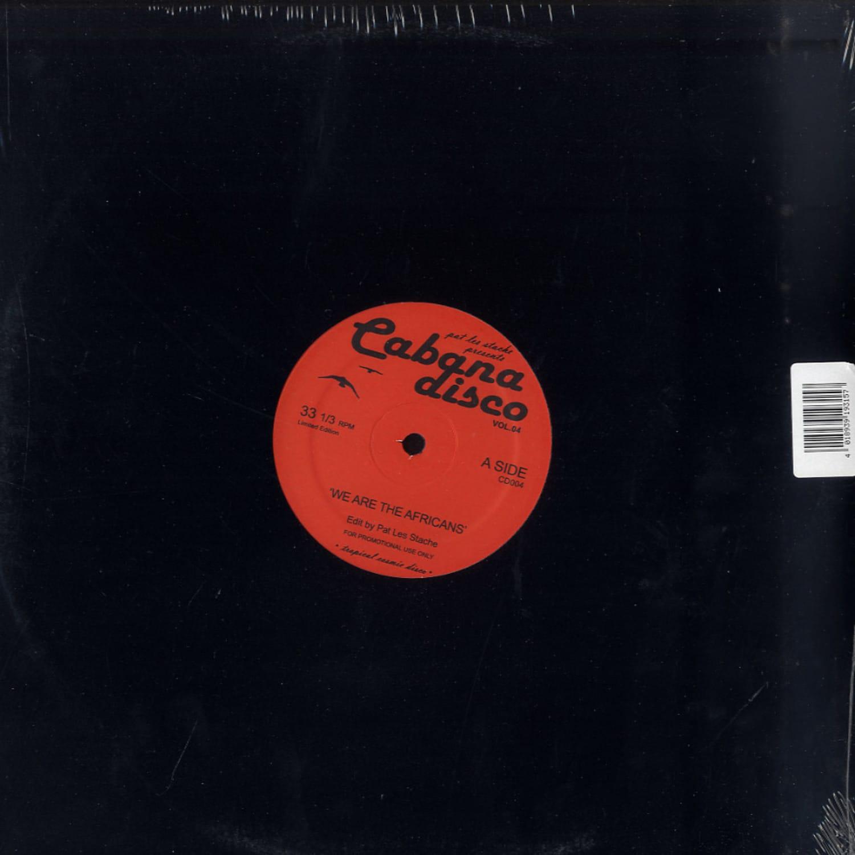 Pat Les Stache Presents - CABANA DISCO VOL.4