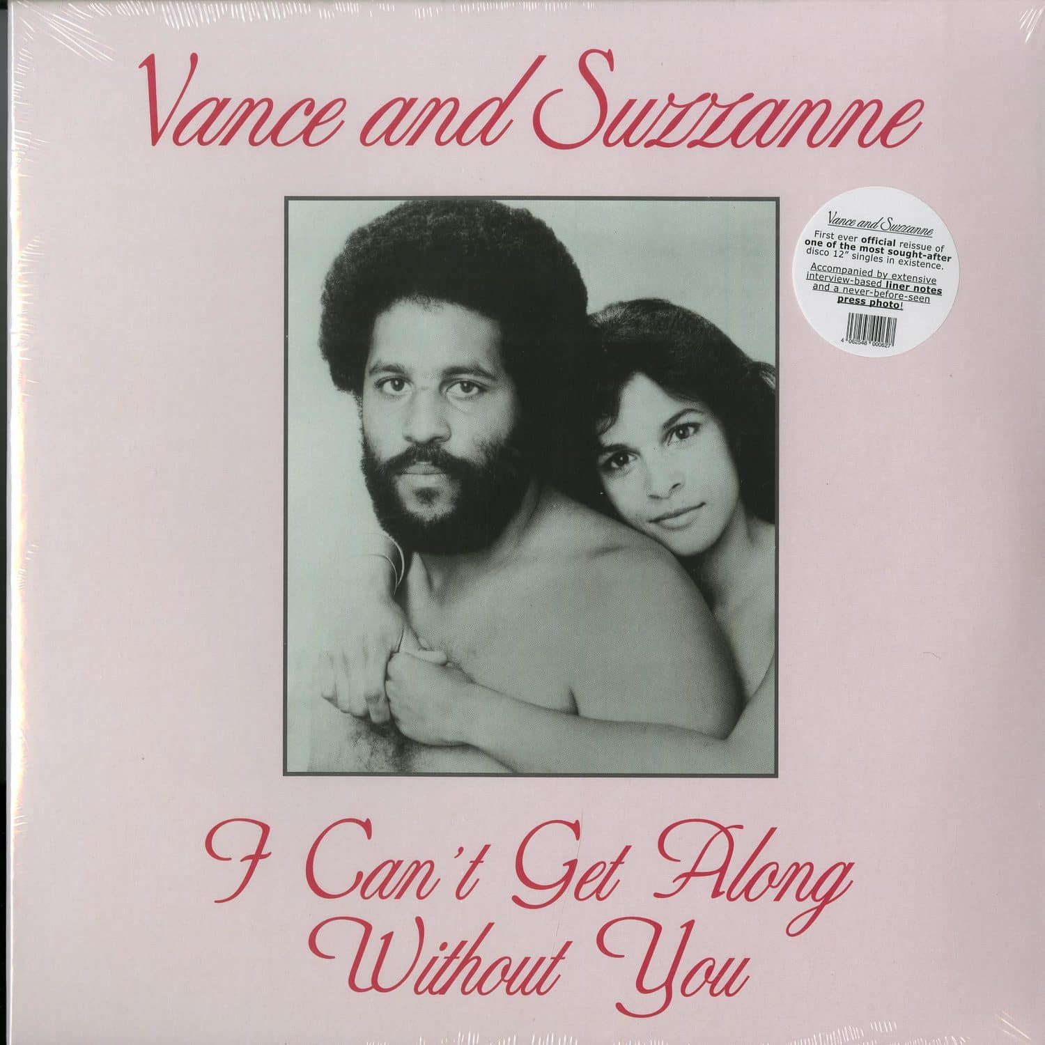 Vance & Suzzanne - I CANT GET ALONG WITHOUT YOU