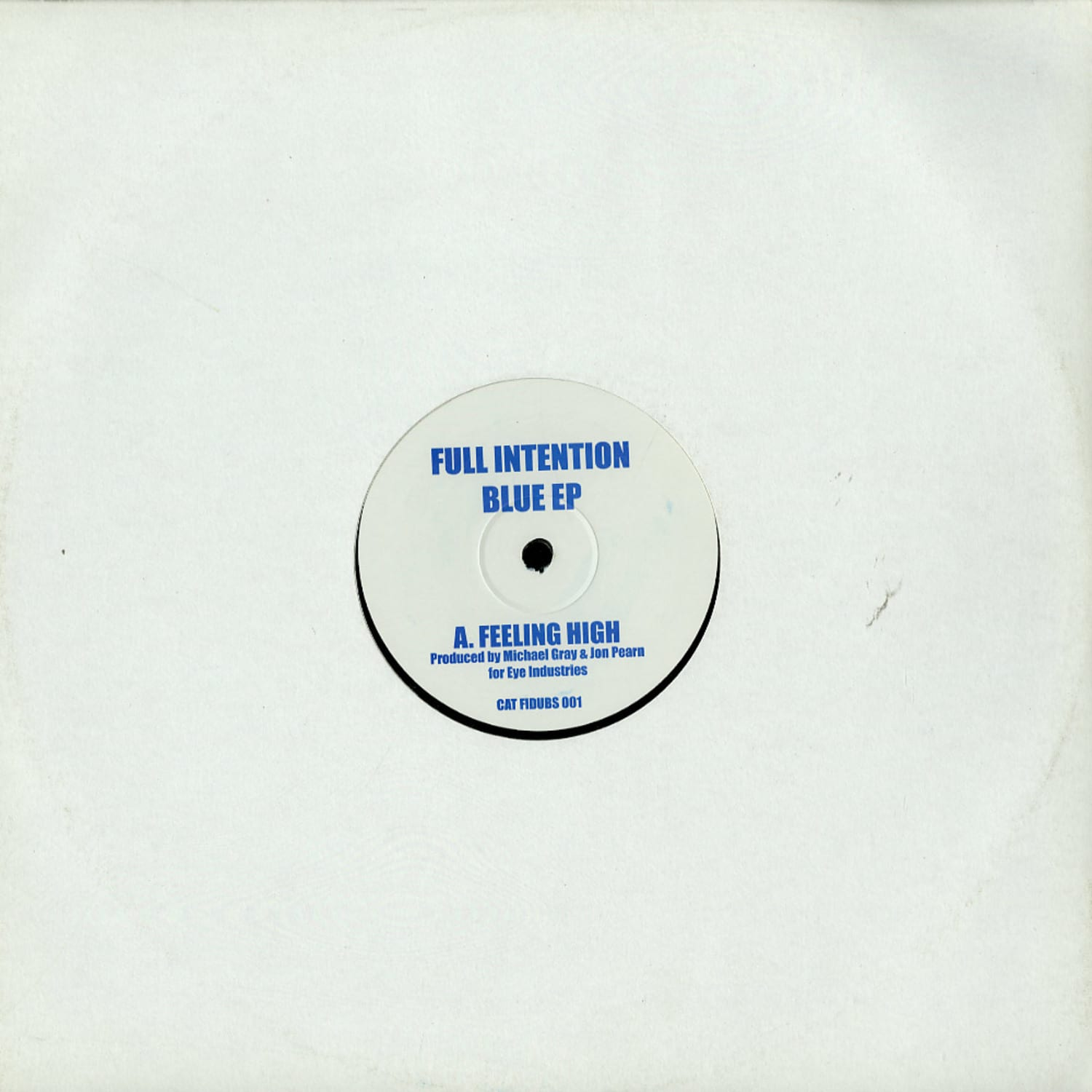 Full Intention - BLUE EP