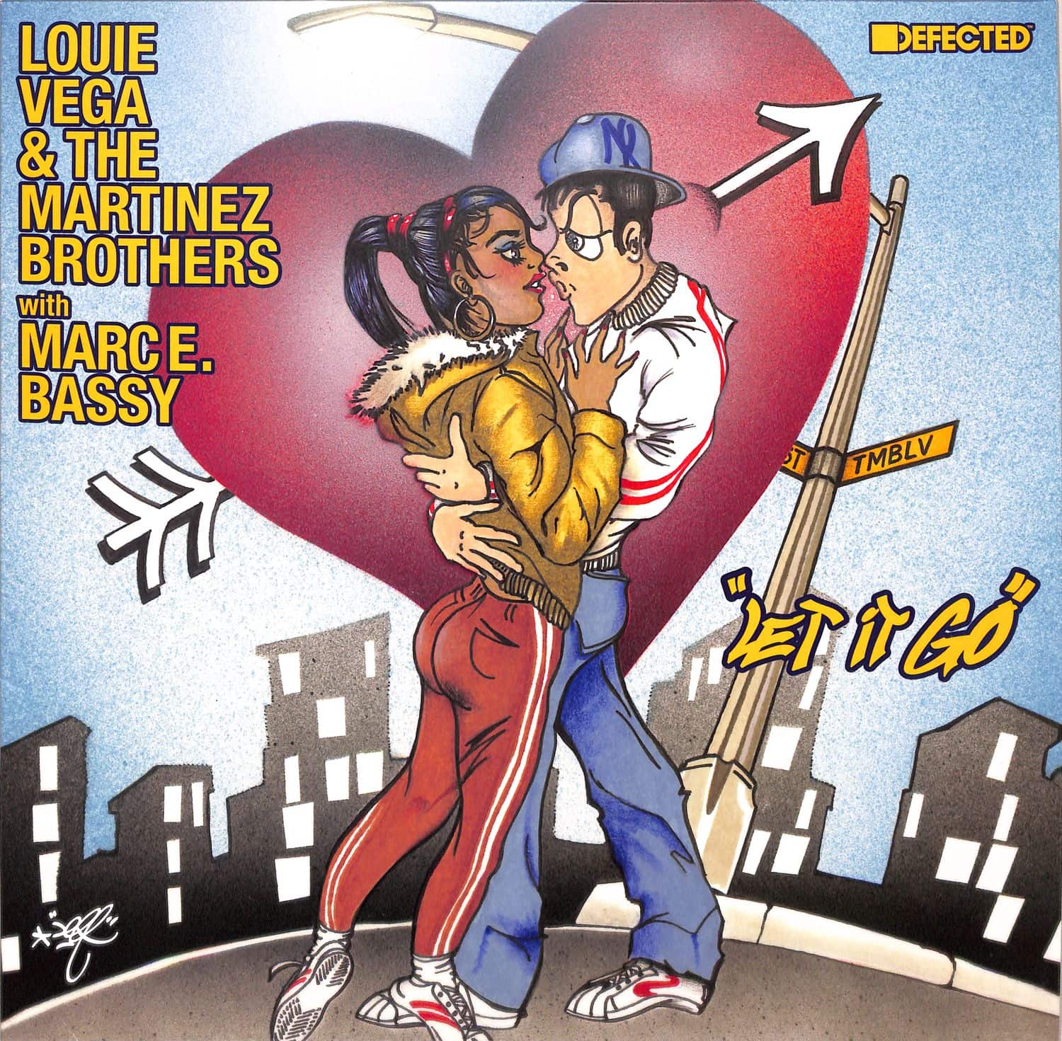 Louie Vega & The Martinez Brothers with Marc E. Bassy - LET IT GO