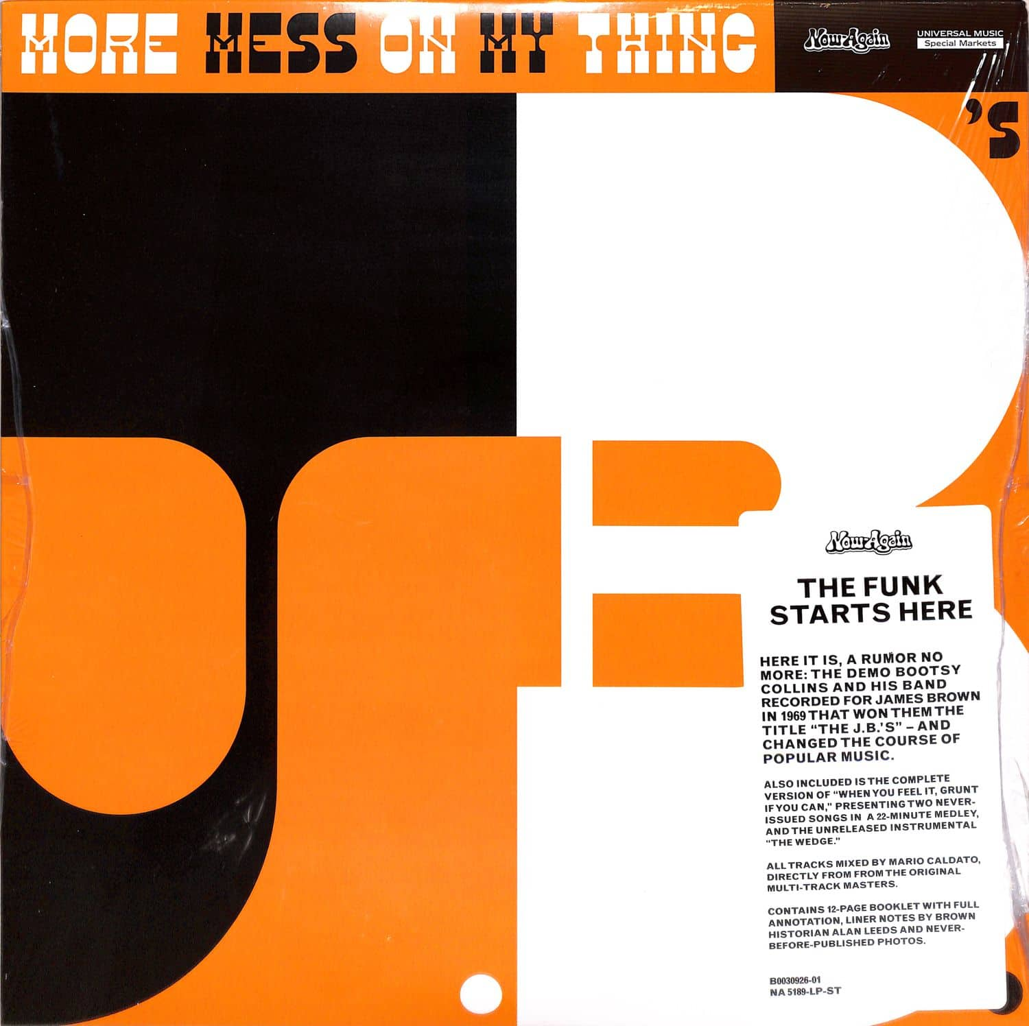 The JBs - MORE MESS ON MY THING