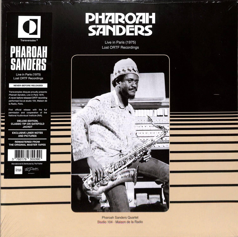 Pharoah Sanders - LIVE IN PARIS 1975 - LOST ORTF RECORDINGS